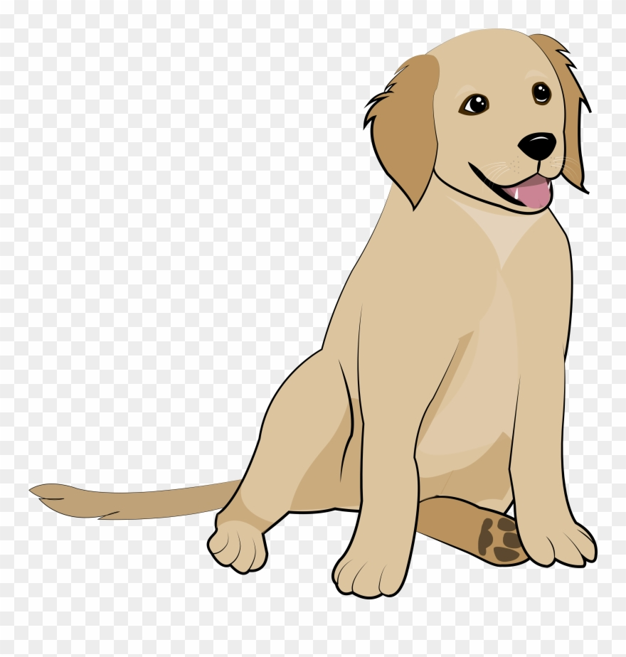 Golden dog clipart image library stock 5 Golden Retriever Puppy Clipart (#3067993) - PinClipart image library stock
