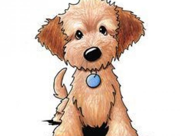 Free Goldendoodle Clipart, Download Free Clip Art on Owips.com image black and white stock