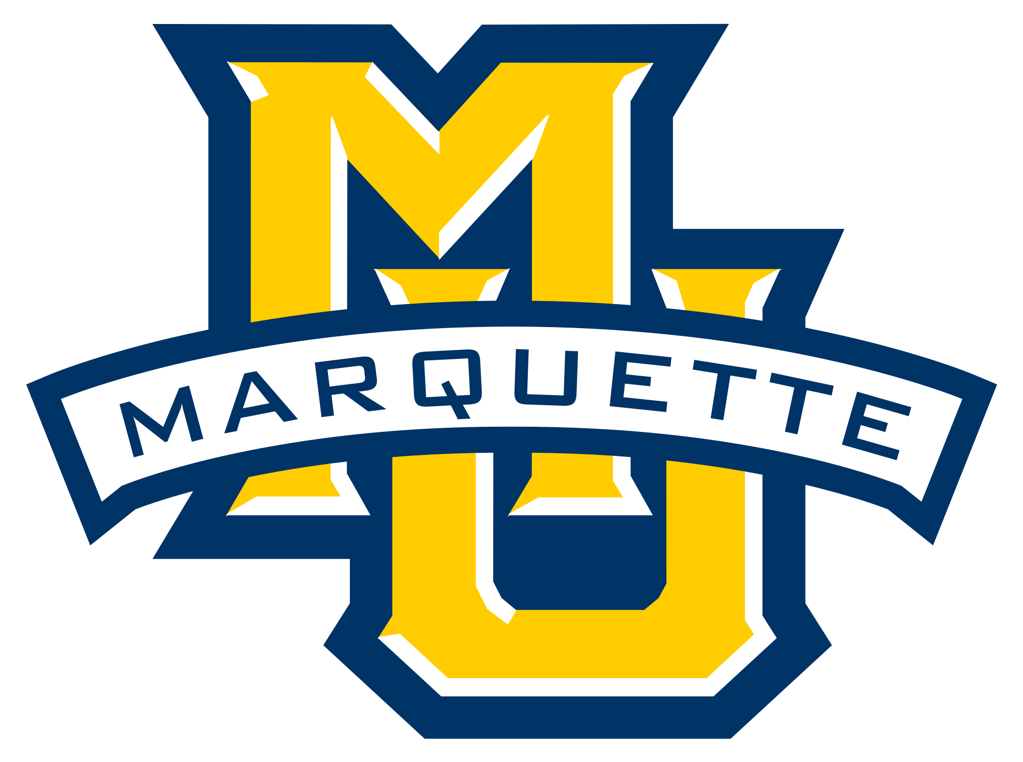 Golden eagles basketball clipart photos vector royalty free download File:Marquette Golden Eagles logo.svg - Wikimedia Commons vector royalty free download