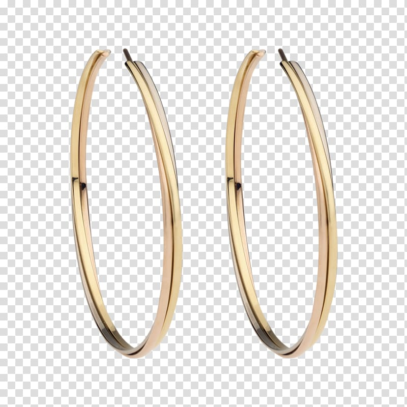 Golden earring clipart clip library download Earring Cartier Kreole Jewellery Gold, earring transparent ... clip library download