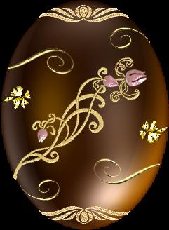 Golden easter egg clipart png jpg black and white stock 17 Best images about Húsvéti PNG Easter on Pinterest | Clip art ... jpg black and white stock