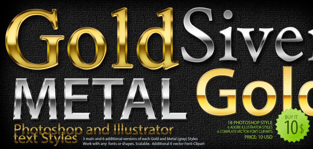 Photoshop text clipart image royalty free stock Font-ClipArt.com » Gold and Metal Photoshop and Illustrator Text ... image royalty free stock