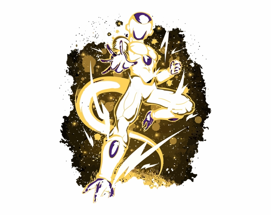 Golden frieza clipart graphic black and white library Dragon Ball - Golden Frieza - Illustration Free PNG Images & Clipart ... graphic black and white library