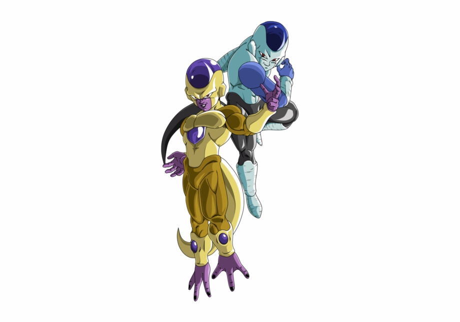 Golden frieza clipart svg download Frost And Golden Frieza - Golden Frost Dbz Free PNG Images & Clipart ... svg download