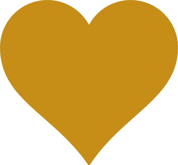 Golden heart clipart graphic freeuse stock GOLDEN heart silhouette   gold heart clip art Quotes   Favorite ... graphic freeuse stock
