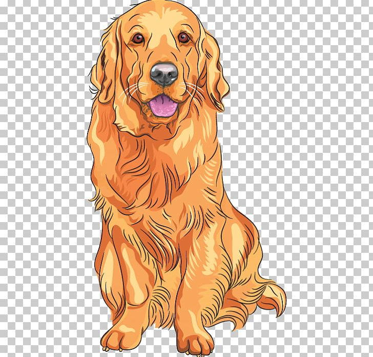 Golden retriever christmas clipart png transparent library Golden Retriever Labrador Retriever PNG, Clipart, Animals ... png transparent library