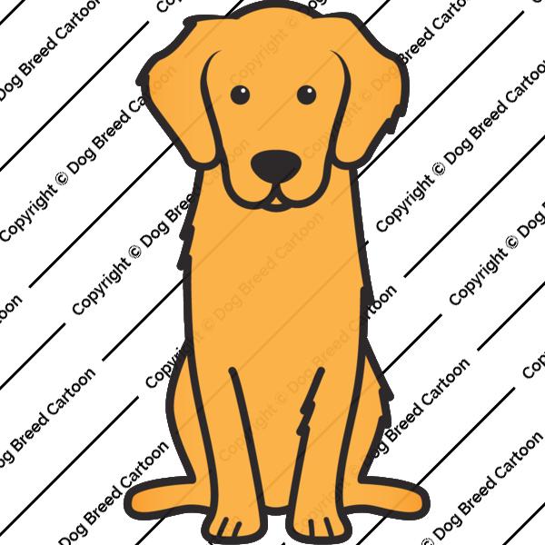 Golden retriever dog clipart clip art stock Golden Retriever Cartoon : Brilliant Ideas Coloring Pages ... clip art stock