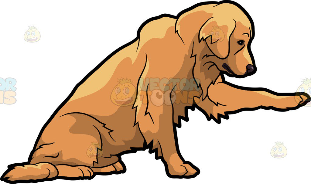 Golden retriver clipart graphic royalty free library Clipart golden retriever dog 1 » Clipart Station graphic royalty free library