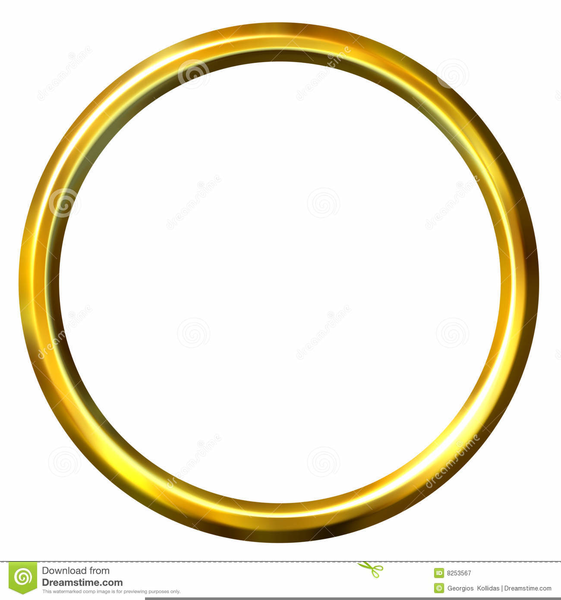 Golden ring clipart clipart library Gold Ring Clipart   Free Images at Clker.com - vector clip art ... clipart library