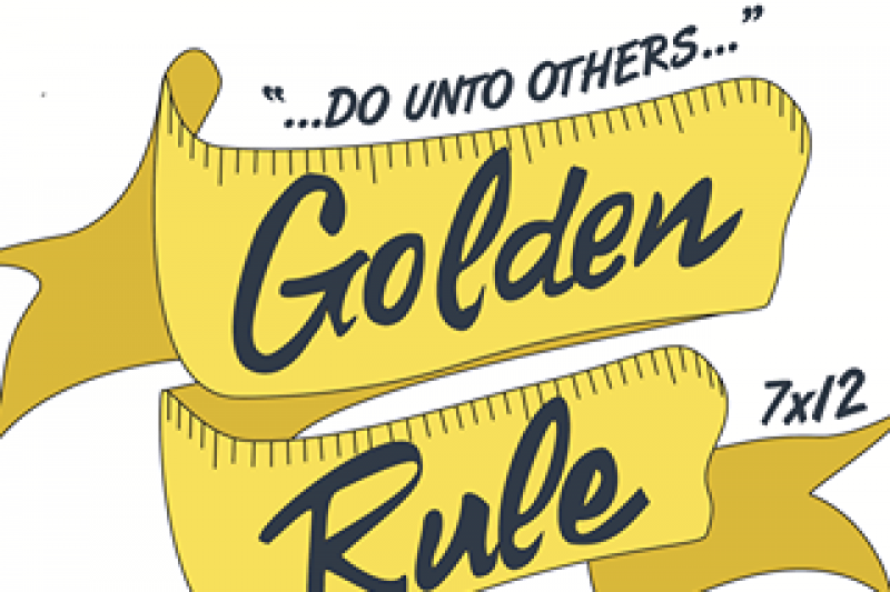 Golden rule clipart clipart black and white library Fundraiser by Michael Heathcott : The Golden Rule Clothes Closet clipart black and white library