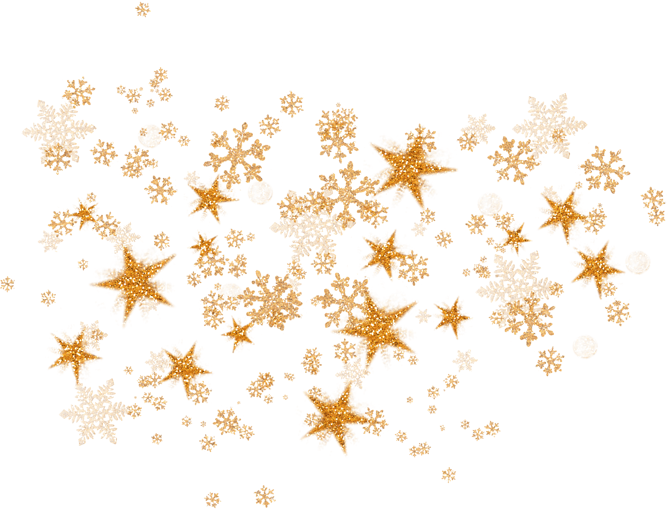 Golden snowflake clipart banner black and white stock Golden Snowflake png images free download banner black and white stock
