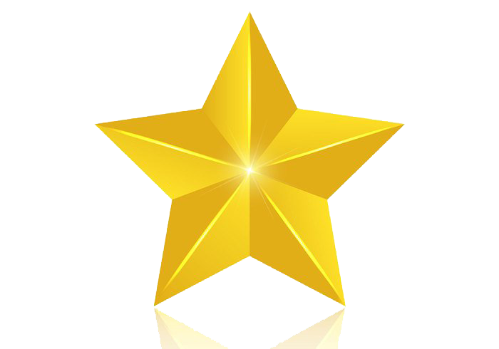 Star clipart 3d jpg transparent stock 3D Gold Star PNG Image | PNG Mart jpg transparent stock