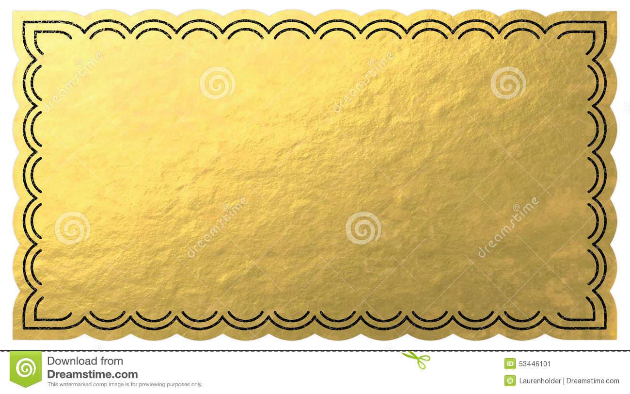 Golden ticket clipart clip black and white Golden ticket clipart 6 » Clipart Station clip black and white