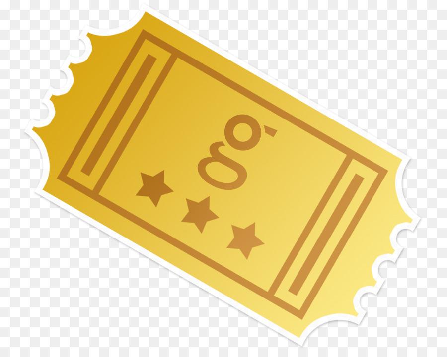 Golden ticket clipart svg free Golden Background png download - 816*708 - Free Transparent Ticket ... svg free