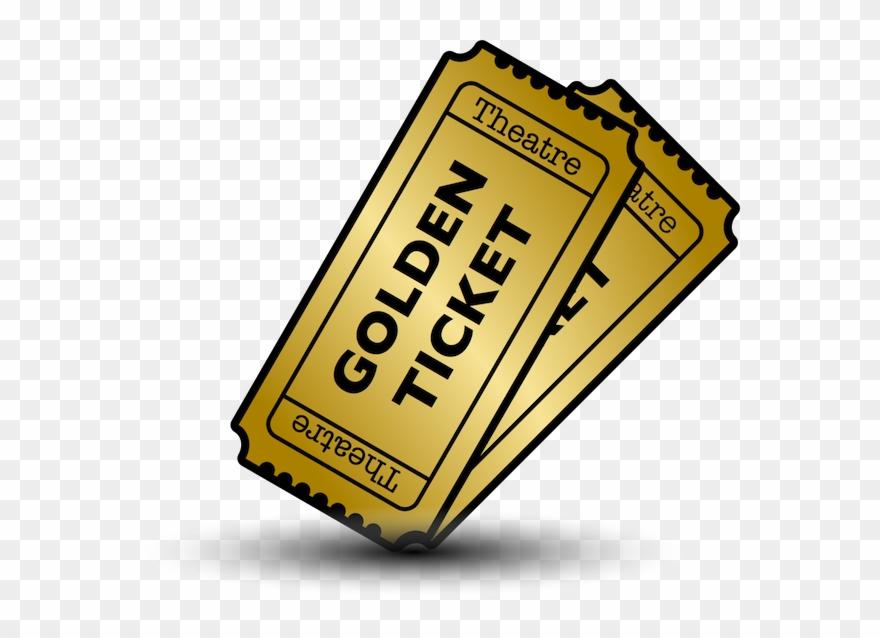 Golden ticket clipart png free stock Golden Ticket System - Logo Clipart (#2096646) - PinClipart png free stock
