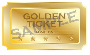 Golden ticket clipart jpg library stock Golden Ticket Clipart jpg library stock