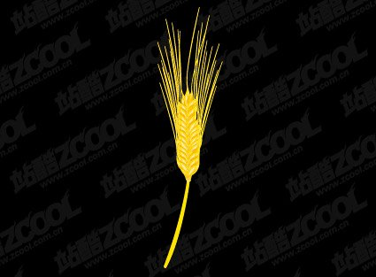 Golden wheat clipart vector royalty free library Free Golden wheat Clipart and Vector Graphics - Clipart.me vector royalty free library