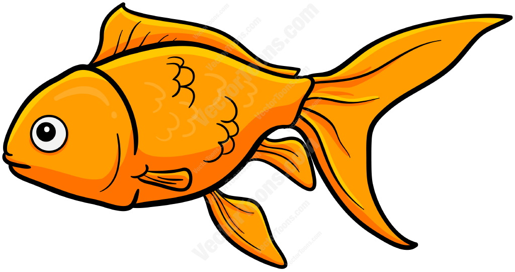 Goldfish cartoon clipart clipart black and white stock 97+ Goldfish Clipart | ClipartLook clipart black and white stock