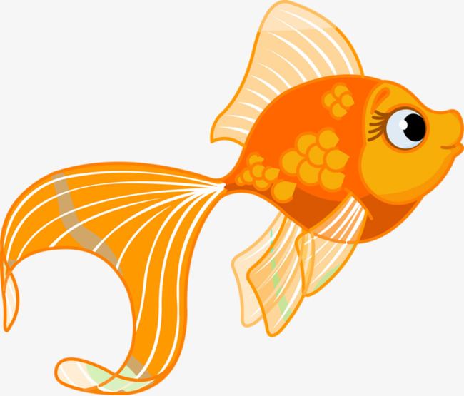 Goldfish cartoon clipart graphic Hand Painted Goldfish Cartoon PNG Image And Conventional Clip Art ... graphic