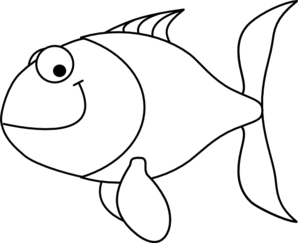 Goldfish clipart black and white clipart transparent download Goldfish Clipart Black And White | Free download best Goldfish ... clipart transparent download