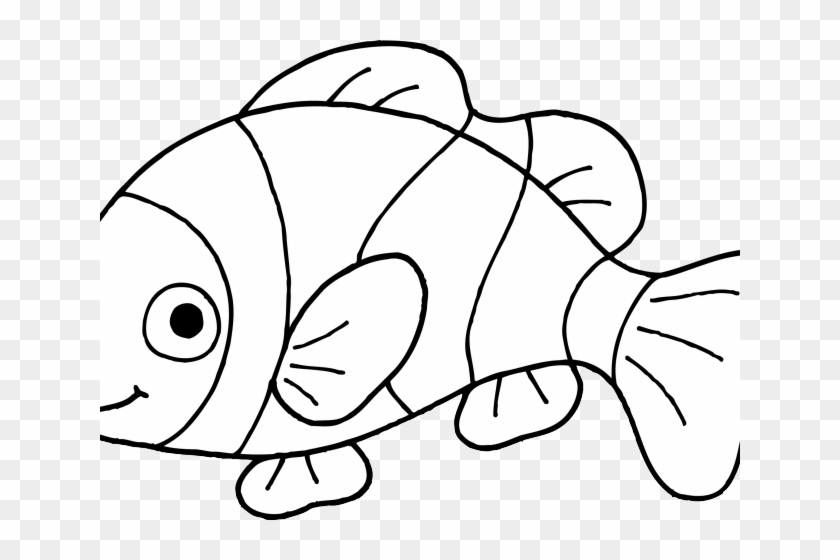Goldfish clipart black and white jpg transparent Dorothy Goldfish Cliparts - Fish Outline Clip Art, HD Png Download ... jpg transparent
