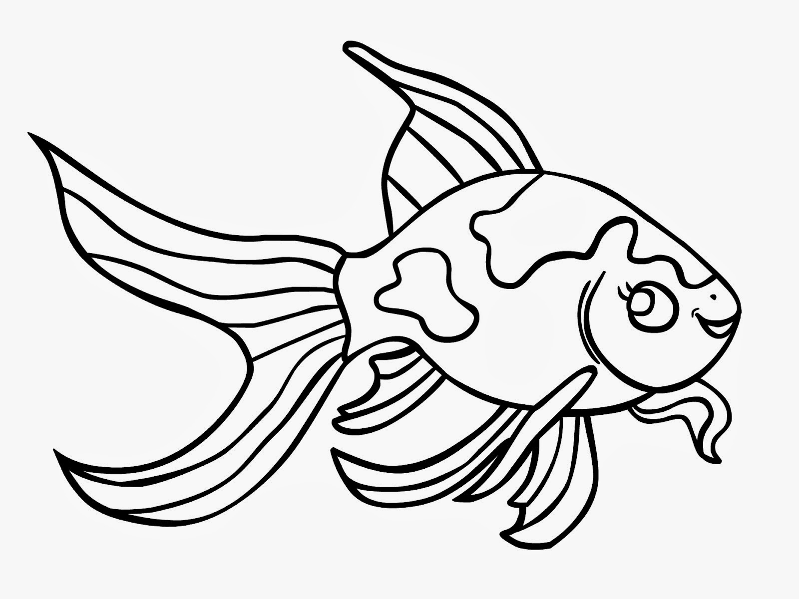 Goldfish clipart black and white jpg free download Goldfish clipart black and white » Clipart Station jpg free download