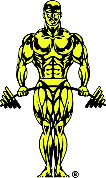 Gold-s gym clipart png freeuse library Golds gym 2 Free vector in Encapsulated PostScript eps ( .eps ... png freeuse library