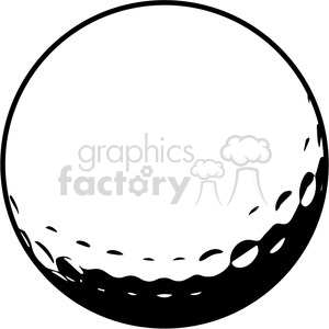 Golf ball vector clipart png library library golf ball vector illustration clipart. Royalty-free clipart # 398810 png library library