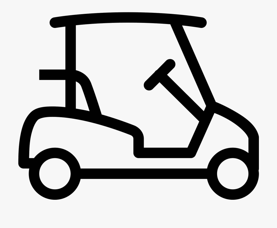 Golf cart black and white clipart free vector svg transparent library Car Icons Iphone - Golf Cart Icon Png #546360 - Free Cliparts on ... svg transparent library