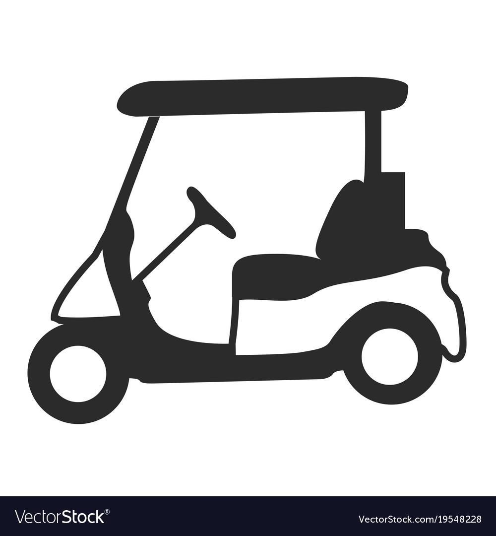 Golf cart black and white clipart free vector picture free library Unique Golf Cart Logo Vector Images » Vector Images Design picture free library