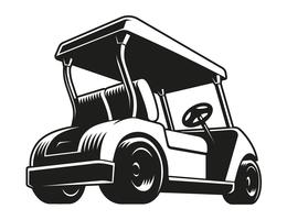 Golf cart black and white clipart free vector picture library stock Golf Cart Free Vector Art - (13,577 Free Downloads) picture library stock
