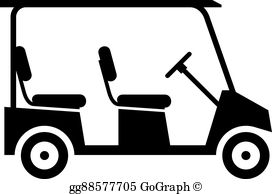 Golf cart clipart free image transparent download Golf Cart Clip Art - Royalty Free - GoGraph image transparent download
