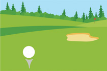 Golfer sand trap clipart graphic free Sports Clipart - Free Golf Clipart to Download graphic free