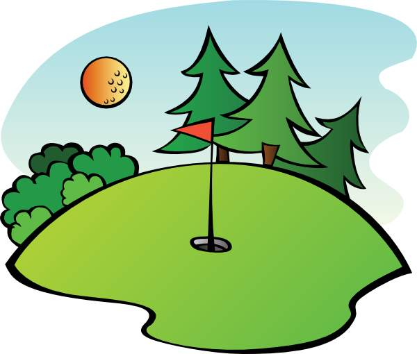 Golf course clipart images picture black and white library Free Golfcourse Cliparts, Download Free Clip Art, Free Clip Art on ... picture black and white library