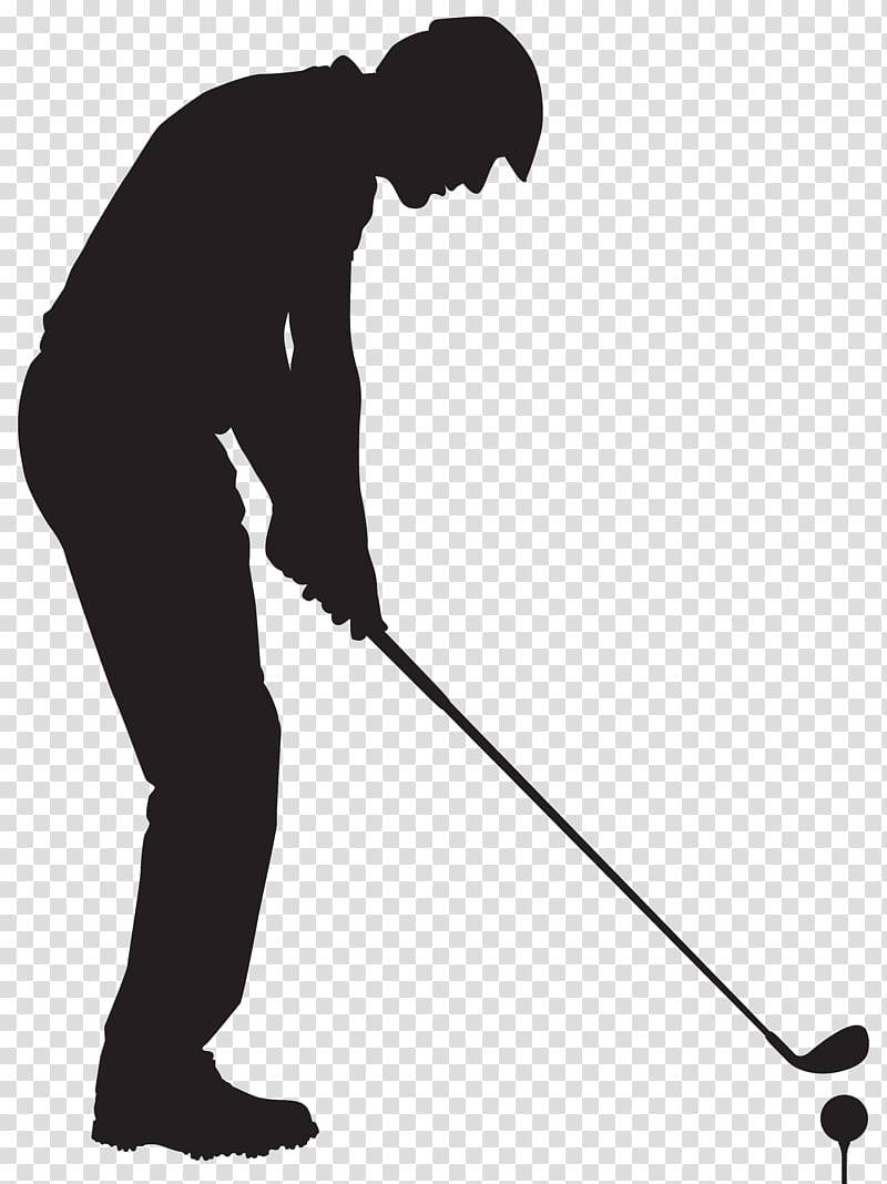 Golf man clipart banner free download Man holding golf club standing in front of golf ball, Golf ... banner free download