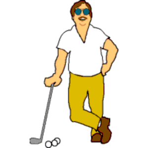 Golf man clipart jpg royalty free library Man Golfer Cliparts - Cliparts Zone jpg royalty free library
