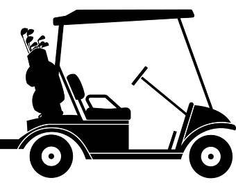 Golfcart clipart clip art black and white download Golf Cart Clipart (99+ images in Collection) Page 1 clip art black and white download