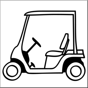 Golfcart clipart image free Golf Cart Clipart | Free download best Golf Cart Clipart on ... image free