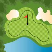 Golfer sand trap clipart vector freeuse download Sand Trap Clip Art - Royalty Free - GoGraph vector freeuse download