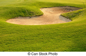 Golfer sand trap clipart image library Golf sand trap. A golf ball plugged deep in a sand trap. image library