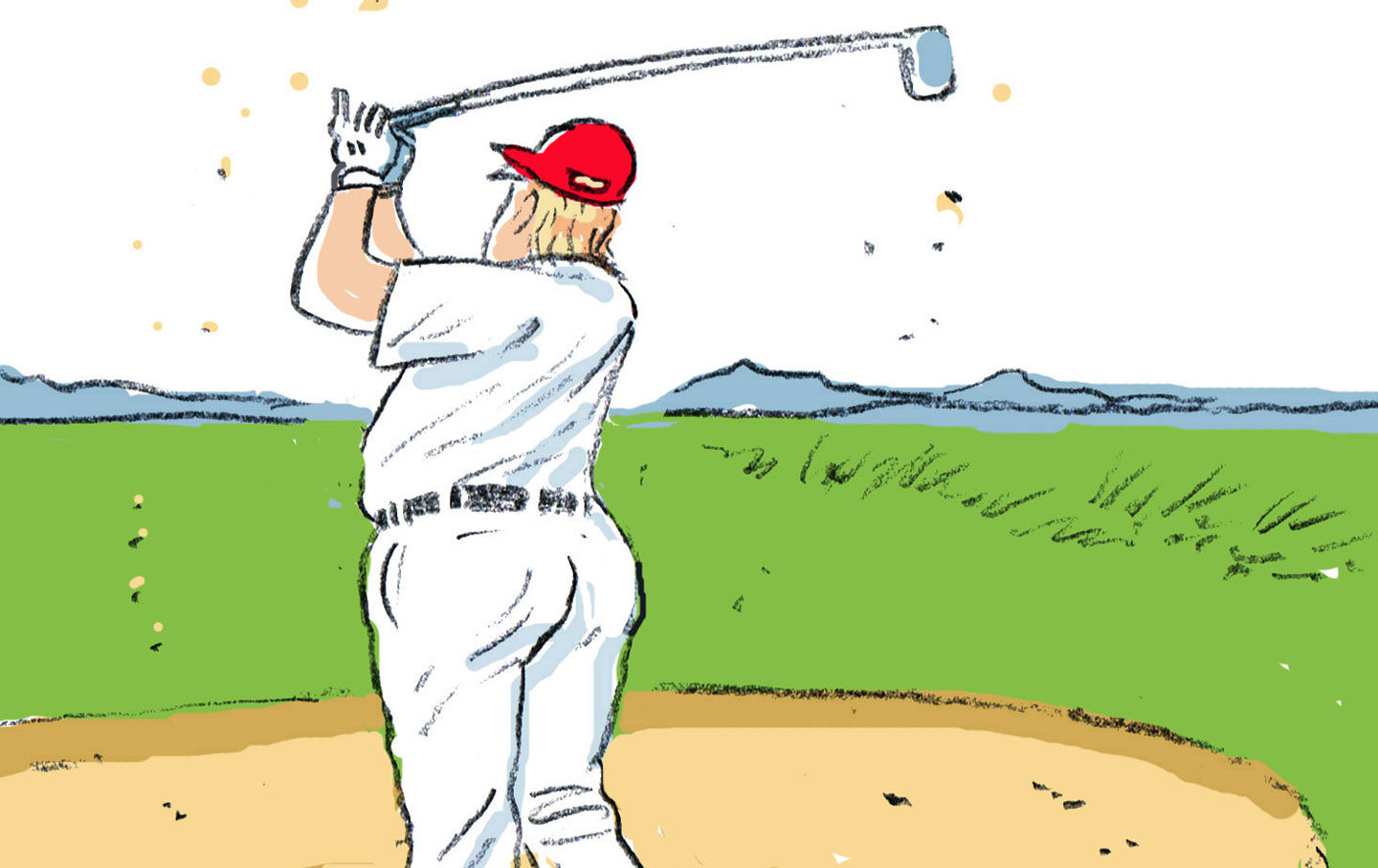 Golfer sand trap clipart freeuse Sand Trap | The Nation freeuse