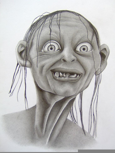 Gollum clipart png library Gollum Clipart | Free Images at Clker.com - vector clip art online ... png library