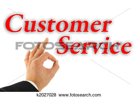 Good customer service clipart jpg royalty free download Stock Illustration of Excellent Customer Service Concept k2027028 ... jpg royalty free download