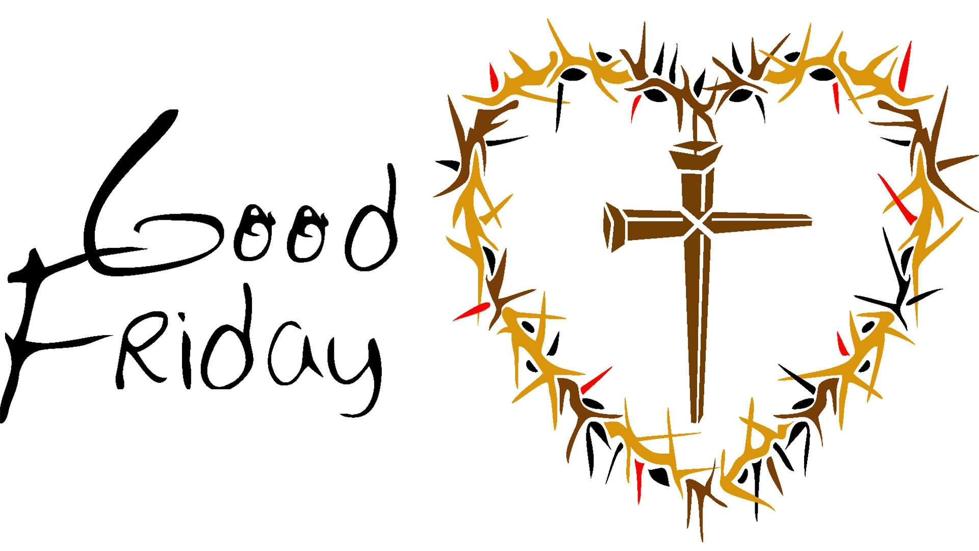 Good friday clipart black and white picture library Very beautiful good friday clipart pictures - Clipartix picture library