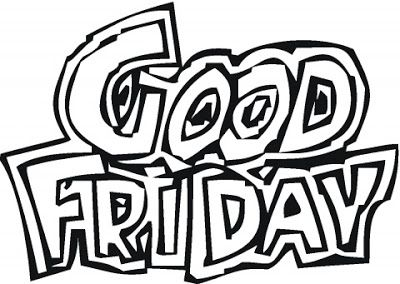 Good friday clipart black and white clipart royalty free Good Friday Clipart || Beautiful Clipart Of Good Friday 2018 ... clipart royalty free