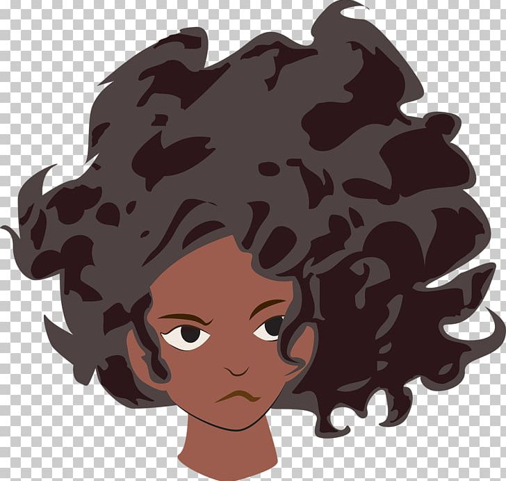Good hair clipart clip transparent stock Good Hair Woman Cartoon T-shirt PNG, Clipart, African American ... clip transparent stock