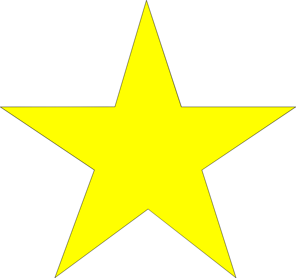 Good job star clipart vector free stock Free Yellow Stars Clipart Image - 7058, Yellow Stars Clipart ~ Free ... vector free stock