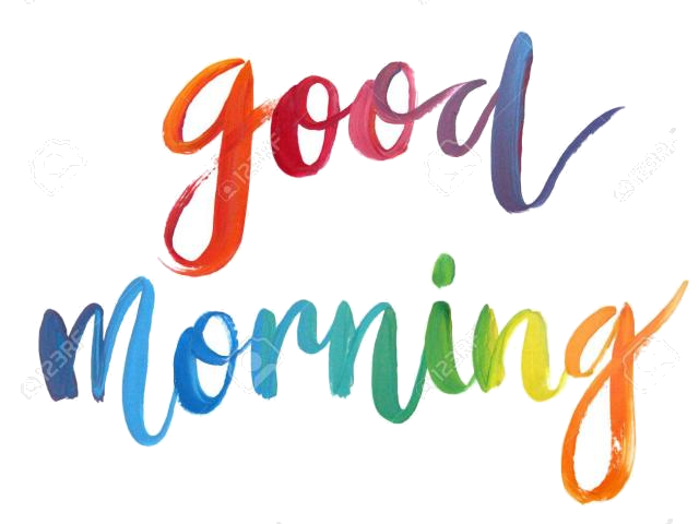 Good morning font clipart vector freeuse Good Morning Clipart X Transparent Png - AZPng vector freeuse