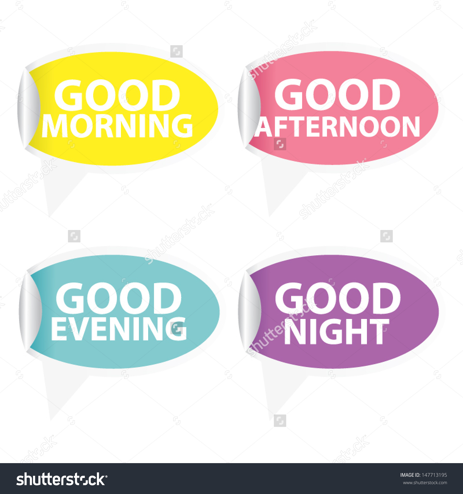 Good morning good afternoon good evening clipart black and white library Good Morning Good Afternoon Good Evening Stock Vector 147713195 ... black and white library