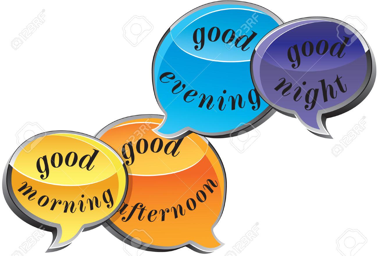 Good morning good afternoon good evening clipart png Good Morning, Good Afternoon, Good Evening, Good Night 3D Talking ... png